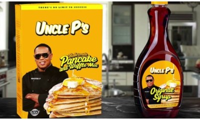 "Master P, ""UNCLE P's"" MINORITY OWNED BRANDS"
