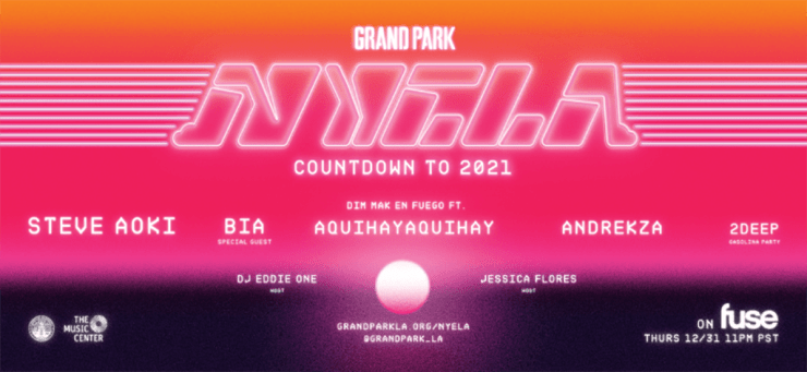 LA's Grand Park's New Year's Eve Countdown to 2021 / PHOTOS – EURweb