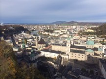 Salzburg, view from the fortress