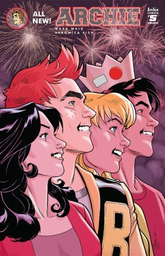 Archie #5 Variant Cover by David Williams (Photo Credit: Archie Comics)