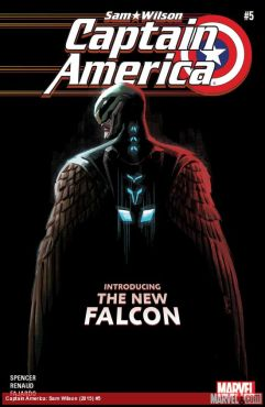Captain America: Sam Wilson #5 cover by Daniel Acuna (Photo Credit: Marvel)