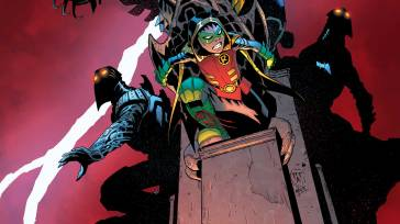 Robin: Son of Batman #7 cover by Mick Gray & Patrick Gleason (Photo Credit: DC)