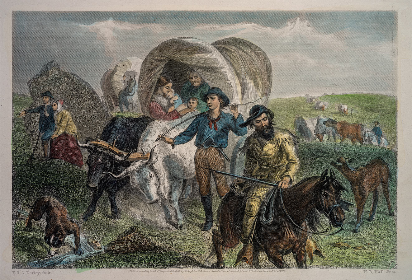 Imprinting The West Manifest Destiny Real And Imagined