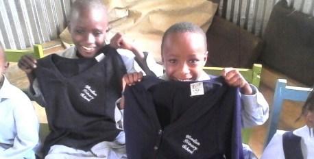 Uniforms from Woodlea School, Woldingham.