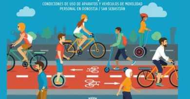 San  Sebastián regula el uso de los patinetes eléctricos,