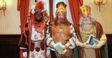 Los Reyes Magos llegan a Vitoria,