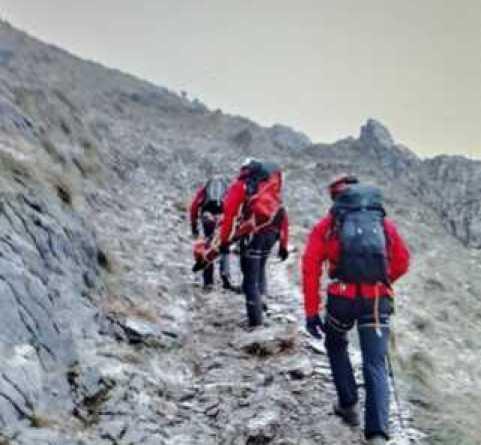 Fallece un montañero de 51 años en el monte Urko tras sufrir un desvanecimiento,