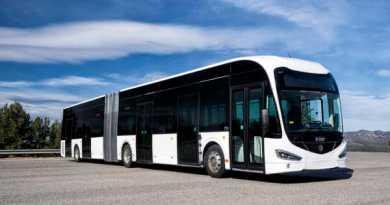 El primer autobús 100% eléctrico podría circular por Vitoria este mismo Otoño,