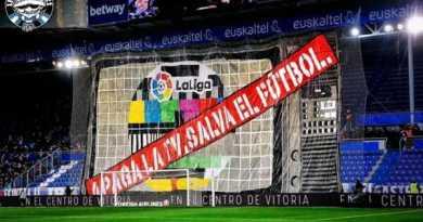 El Alavés podría ser sancionado con 50.000 euros por las pancartas de Iraultza,