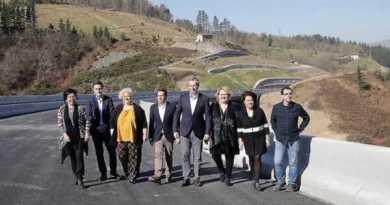 """Gipuzkoa dará """"un salto cualitativo"""" con la apertura a finales de marzo de la autovía de Deskarga,"""