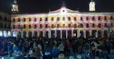 Éxito de asistencia en la primera edición de Umbra Light Festival Vitoria-Gasteiz,