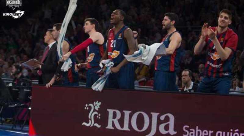 """El Baskonia da un paso al frente para disputar los """"play-off"""","""