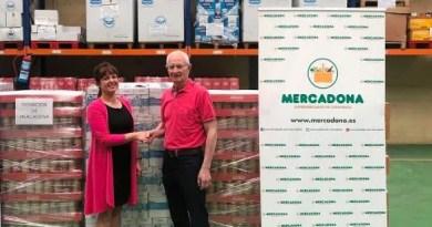 Mercadona entrega 3.000 kilos de productos al Banco de Alimentos de Araba,