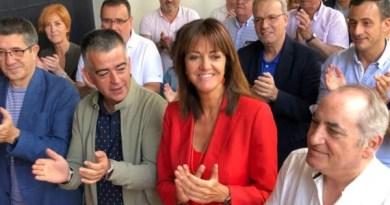 """El PSE-EE condena las pintadas en el domicilio de Isabel Celaá y muestra su apoyo """"a una socialista de trayectoria impecable y servicio público ejemplar"""","""