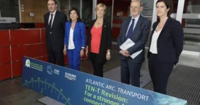 Euskadi reclama a la UE que exija a los estados español y francés completar el Corredor Atlántico,