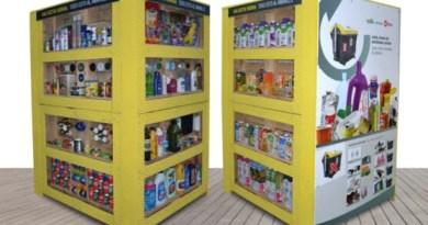 Colocan ocho tótems informativos sobre reciclaje y recogida selectiva de residuos en las calles Bilbao,