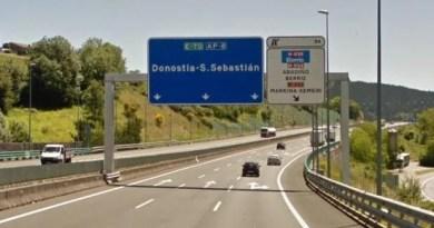 Investigado un conductor por circular a 225 km/h por la autopista AP-8,