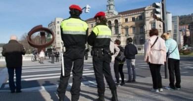 La percepción de seguridad ciudadana en Bilbao es de 6,59 puntos sobre 10,