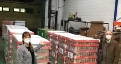 Mercadona entrega más de 48000 Kilos de productos de primera necesidad al Banco de Alimentos de Bizkaia,