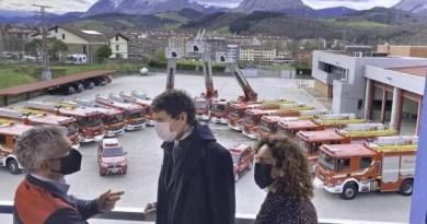 La Diputación renueva el 25% de la flota de los Bomberos de Bizkaia con la puesta en servicio de 15 vehículos de nueva generación,