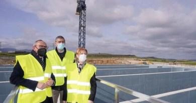 La nueva estación depuradora de Agurain evitará al Zadorra el vertido con mayor carga contaminante de la Llanada,