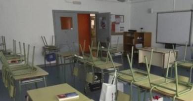 Se mantienen 57 aulas clausuradas por positivos en covid, el 0,32% del total,