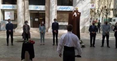 Las instituciones vascas homenajean a las víctimas del franquismo en el 84º aniversario de los fusilamientos de Azazeta,