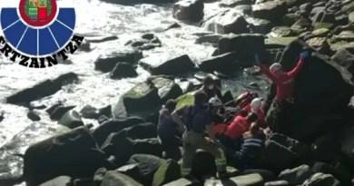 Los Servicios de Emergencias de Euskadi rescatan a un varón accidentado en Mendexa,