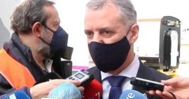 """Urkullu cree que el rechazo de la UEFA a que Bilbao acoja la Eurocopa puede tener motivaciones """"políticas"""","""