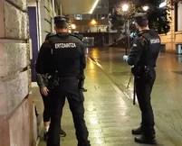 Dos detenidos por agresión con arma blanca y amenazas de muerte en Bilbao,