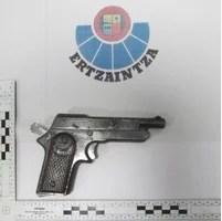 Dos detenidos tras protagonizar un robo con violencia en un establecimiento en Tolosa,