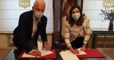 Gasteiz y Logroño firman un convenio de colaboración para la promoción turística cruzada,