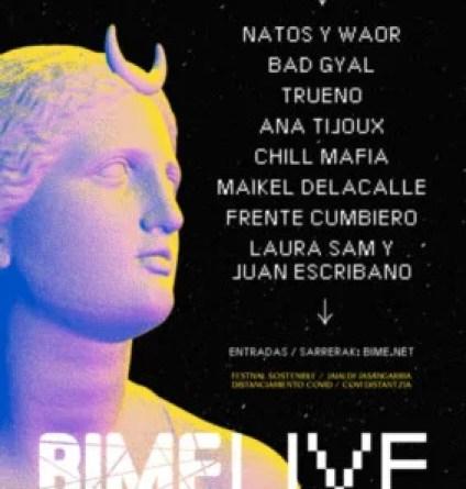Natos y Waor, Bad Gyal y Trueno lideran el cartel del Bime Live,