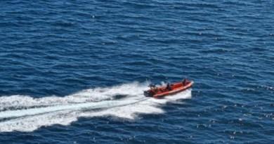 Los Servicios de Emergencias de Euskadi reanudan en la jornada de hoy la búsqueda del buzo desaparecido ayer en Lekeitio,