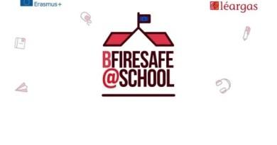 El proyecto europeo «Be Fire Safe at School» en el que participan los Bomberos de la Diputación aborda su fase final,
