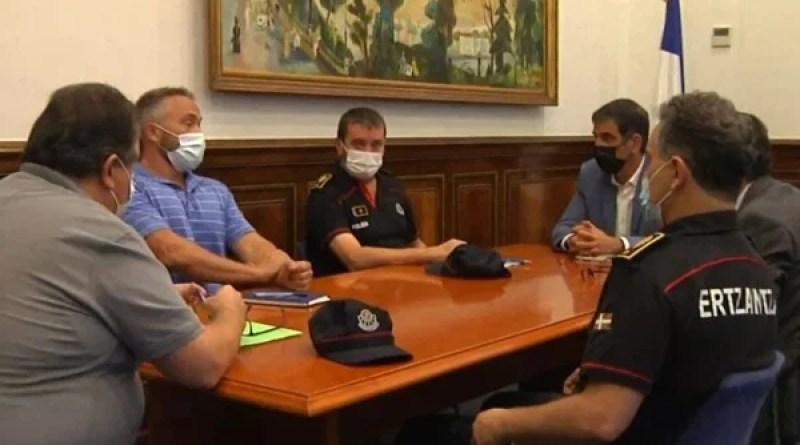 Diseñan el operativo especial de seguridad de cara a la Bandera de la Concha,