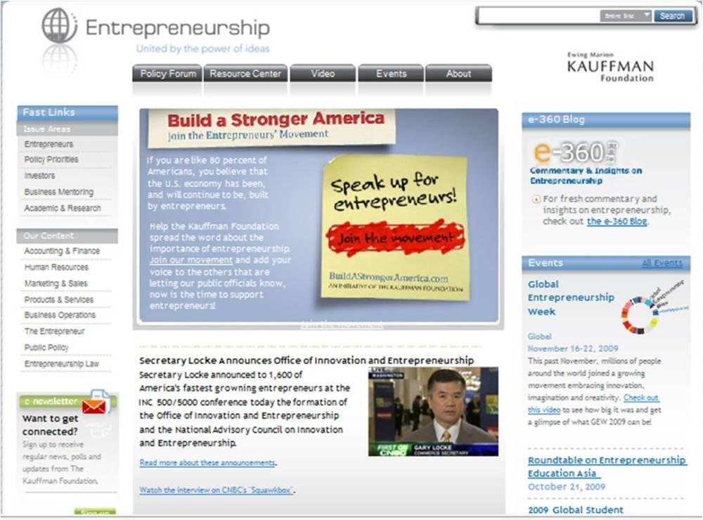 Empreendedorismo - Portal a consultar