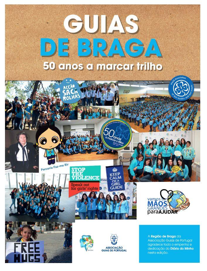 Suplemento Diário do Minho - Aniversário dos 50 anos das Guias de Braga