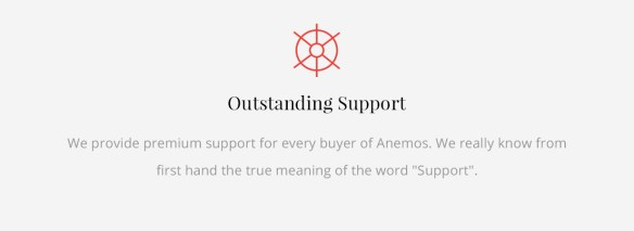 Anemos Support