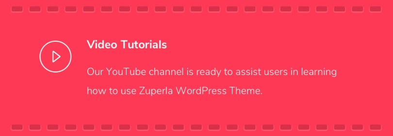Zuperla Video Tutorials