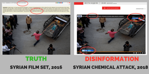 """A Movie as """"New Evidence on Fake Chemical Attack"""" – Again - EU vs DISINFORMATION"""