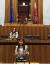 6.a im Parlament - März 2016