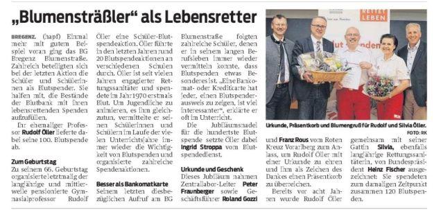 Blutspenden VN-Heimat Bregenz 21.4.16
