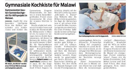 VN-Heimat Bregenz 21.7.16 Malawi