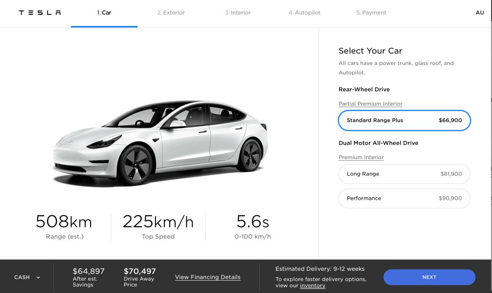 Tesla.com