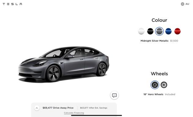 Model 3 grey