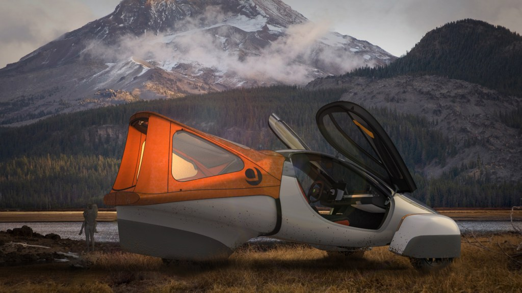 Raise the hatch back with the camping option package and spare the bug dope.