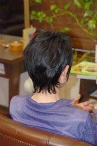 縮毛矯正アフター