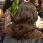 縮毛矯正でルーズなスタイル