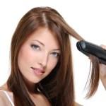 縮毛矯正をかけているのに毎日ヘアアイロン?